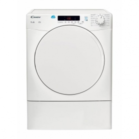 Candy CSV9DF White Freestanding Vented Tumble dryer, 9kg
