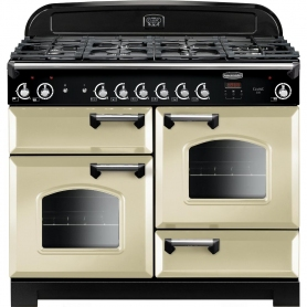 Rangemaster CLA110NGFCR/C Classic Cream with Chrome Trim 110cm Gas Range Cooker
