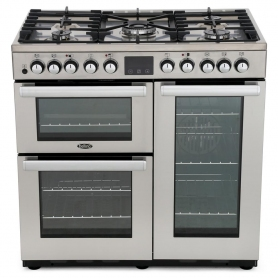Belling COOKCENTRE DX 90DFT 90cm Dual Fuel Range Cooker