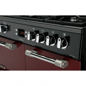 Leisure Cookmaster CK90F232R 90cm Dual Fuel Range Cooker - 1