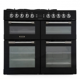 Leisure Cuisinemaster CS100F520K 100cm Dual Fuel Range Cooker