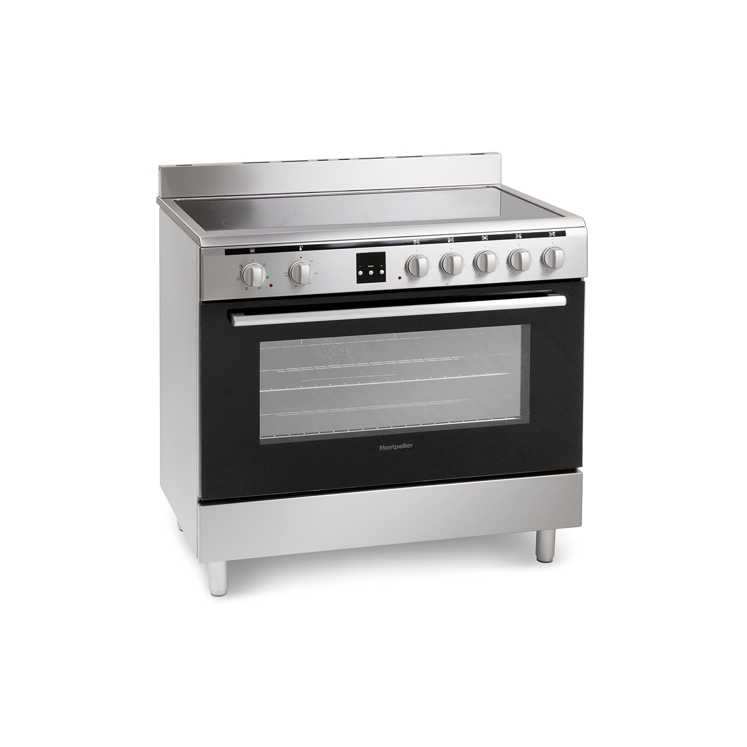 Montpellier MR90CEMX Electric Range Cooker - 0
