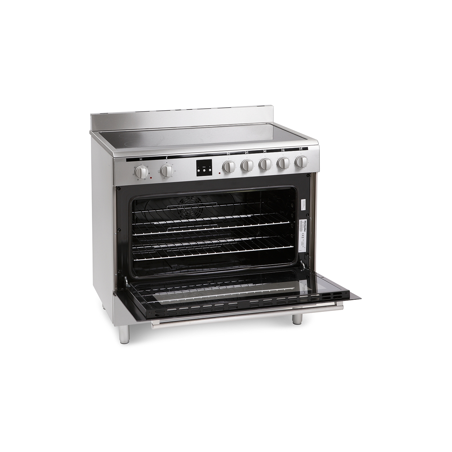 Montpellier MR90CEMX Electric Range Cooker - 1