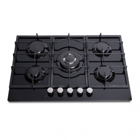 Montpellier MGH75BG Gas on Glass Hob