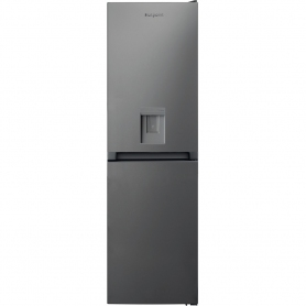 Hotpoint HBNF55181SAQ  Frost Free Fridge Freezer in Silver w/dispenser  1.83m