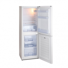 Iceking IK3633AP2 Fridge Freezer in White, 1.36m 48cmW A+ Rated - 1