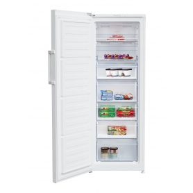 Beko FFP1671W Frost Free Upright Freezer - White - A+ Rated