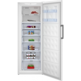 Beko FFEP3791W Frost Free Upright Freezer 70cm Wide Massive  404 litres - White - A++ Rated