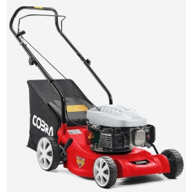 "Cobra M41C 16"" Petrol Powered Push Lawnmower"