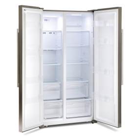 Montpellier M605X Side-By-Side Fridge Freezer - 1