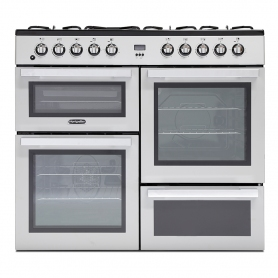 Montpellier MDF100S Dual Fuel Range Cooker
