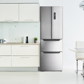 Montpellier MFF4X French Door Fridge Freezer - 2