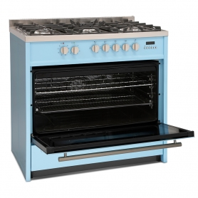 Montpellier MR95DFPB Dual Fuel Range Cooker - 1