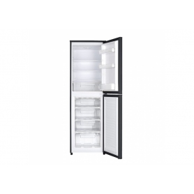 Montpellier MS171BK Black 170cm Tall Static Fridge Freezer
