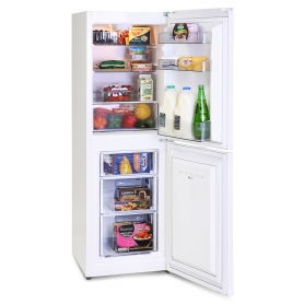 Montpellier  MS148W Wide Static 50-50 Freestanding Fridge Freezer