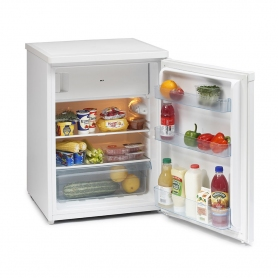 Iceking RK6129W 60cm Undercounter Fridge with Ice Box White A++