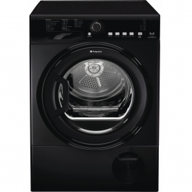 HOTPOINT AQUARIUS TCFS 83B GK.9 TUMBLE DRYER - BLACK