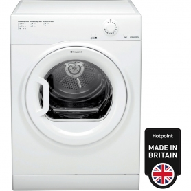 Hotpoint Aquarius TVFM70BGP 7Kg Vented Tumble Dryer